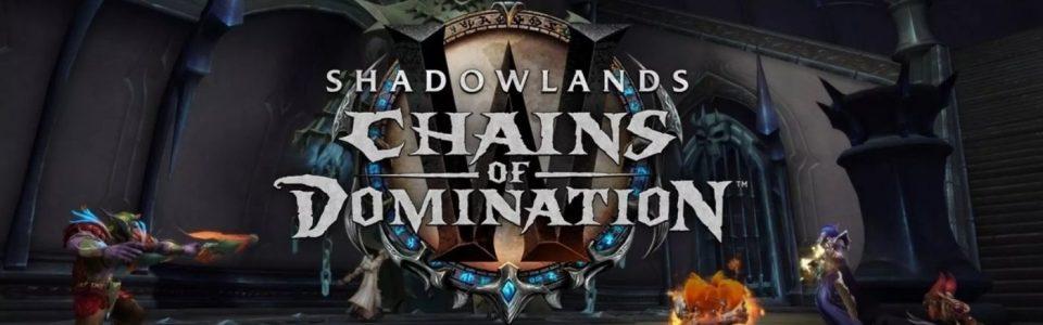 World of Warcraft Shadowlands: è live la patch 9.1, Catene del Dominio