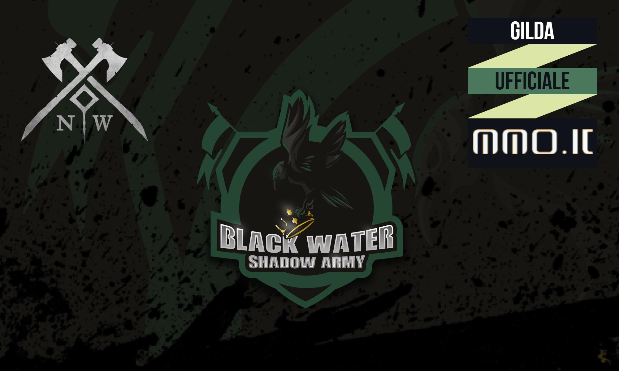 new world Blackwater Shadow Army gilda ufficiale new world italia