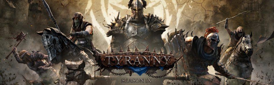Conqueror's Blade: è live la Season IX, Tyranny